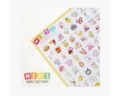 Diary Scrapbook Sticker Label Mini Factory - Travel