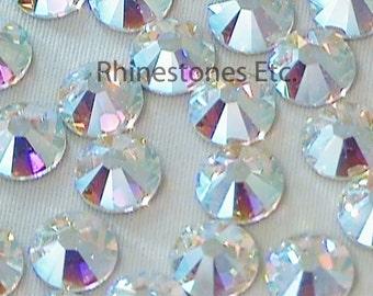 Crystal AB 34ss Swarovski Elements Rhinestones Flat Back 10 pieces