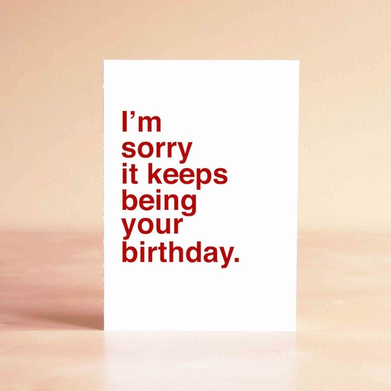 Funny Birthday Card Friend Birthday Card 30th Birthday Card