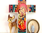 Pre Order for S Madonna Mother Mary Wall Cross preorder now