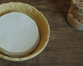 "Organic Flannel Facial Rounds --Double Layer 4"" Diameter, Choose your Quantity & Thread"