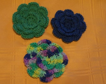 No Sewing Required! Crochet Rose PATTERN from ...