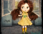 Blythe ~ Cotton  1500's Style Collar, Dress ~ Vintage Inspired  by KarynRuby