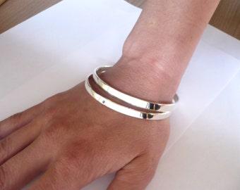 sterling silver bangles set