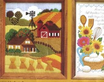 Vintage Harvest Stitchery Kit Creative Circle #1424