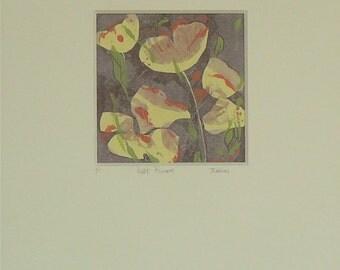 Linocut, Monoprints