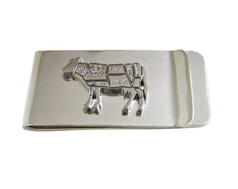 Beef Butcher Cut Money Clip