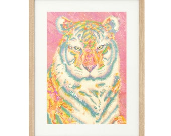 Kenneth the Fabulous - Tiger - Extra Large - Limited Edition Print