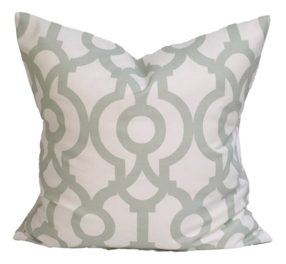 Light Green Decorative Pillow : Light GREEN Pillows. Green Decorative Pillow Cover.Home
