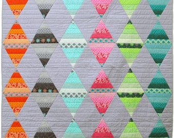 Australis Diamonds Quilt Pattern PDF by Emma Jean Jansen - Immediate Download