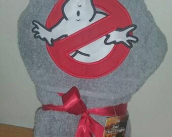 Ghost Hooded Bath Towel