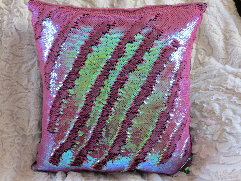 Mermaid Decorative Pillows : Mermaid Pillow Cover 12 Dusty Rose Mermaid Pillow