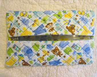 Quilted Butipod Cover Diaper Wipes Case