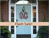 Flash Sale-Large Wooden Monogram-Monogram your Door
