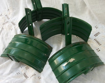 One Green Hose Holder ~ Metal Garden Supply ~ Old Mountain Shed Find ~ Vintage ~ Pretty Shabby Cottage ~ Chic Decor