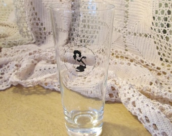 Vintage Playboy Club Tall Beer Glass/Drinking Glass