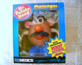 Vintage Mr Potato Head Massager, Homedics Foot Action Portable Massager, Mr Potato Head Collectible, Dancing Mr Potato Head