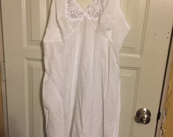 cotton full slip size 40 Wondermaid