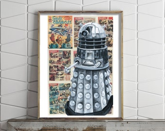 Poster of The Dalek from Doctor Who