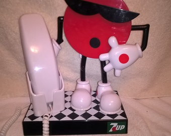 Character Dial Phone (7 Up Promo Item)