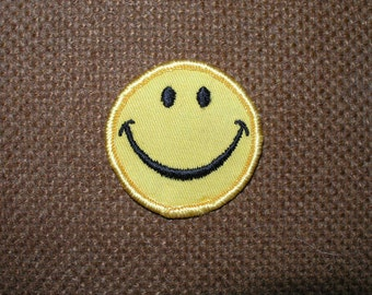 "Vintage patches from 1970's ""Smiley face"""