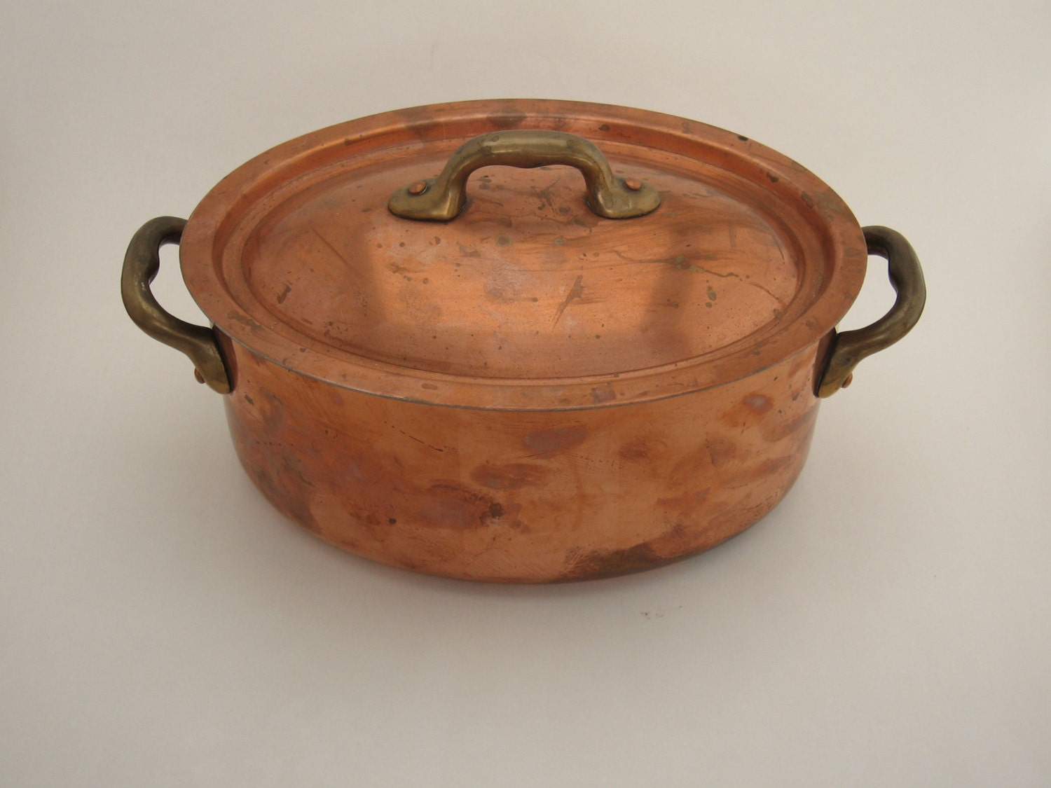 copper roasting pan copper roasting pan 2584