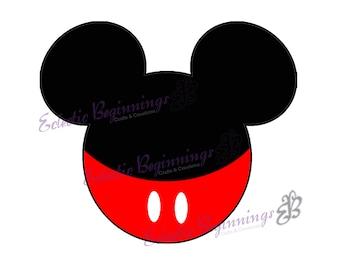 Disney Digital File, DIY Print Iron On-Disney Mickey Mouse Mickey Ears JPG File