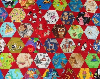 I Spy quilt for baby or toddler: made to order