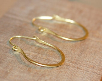 Hammered Brass Hoop Earrings, Gold Hoop Earrings, Rustic Hoop Earrings, Thick Hoop Earrings, gift women