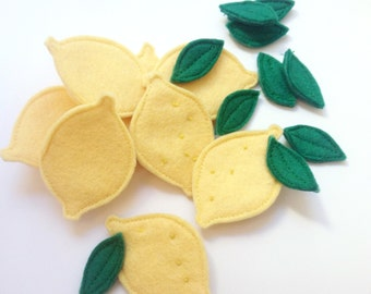 Lemon brooch
