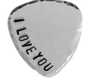 Custom Guitar Pick - Customize your own Guitar Pick - Weathered Finish