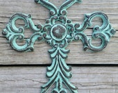 Cast Iron Ornate Cross
