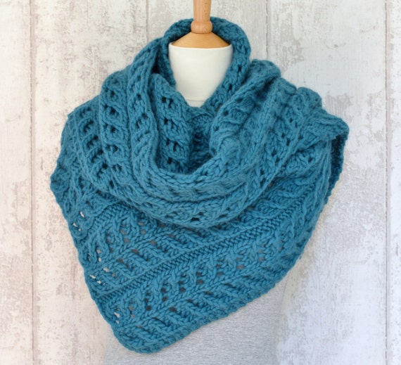 Easy scarf knitting pattern shawl wrap improving beginner pattern easy scarf knitting pattern shawl wrap improving beginner pattern chunky wrap quick knitting pattern digital file instant download from richmondhillknits on dt1010fo