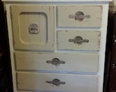 Vintage Armoire by Hinkle painted with Dixie Belle and L'essentiel Paints, Glazes and Wax - Contact for Shipping