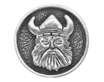 2 Viking Norse 15/16 inch ( 24 mm ) Pewter Buttons