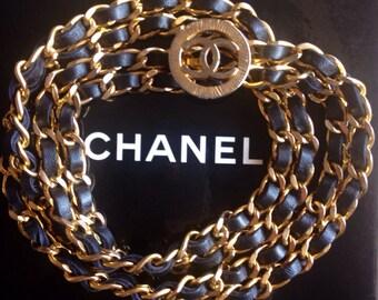 Chanel suspenders | Etsy