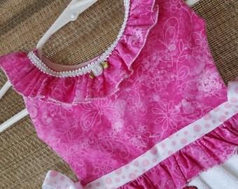 Pink Ice Cream Cone Ruffle Oven Door Kitchen Dish Towel Dress