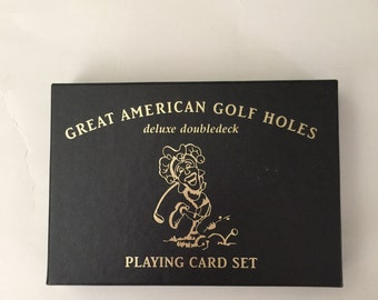 Deck of  Great American Golf Hole Cards
