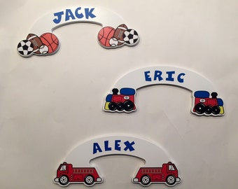 Personalized Wooden Door Plaques