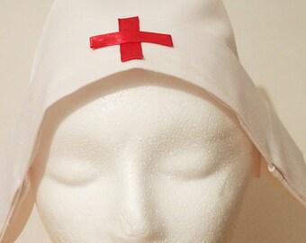 Red Cross Nurse Hat