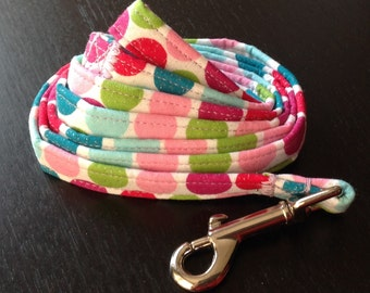 Dog Leash - Sparkly Polka Dot Pattern