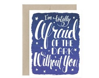 Afraid Of The Dark - Glows in the Dark!!!