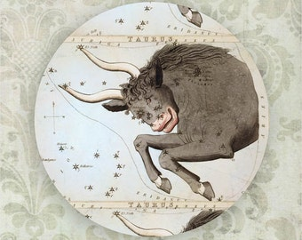 Taurus Constellation melamine plate