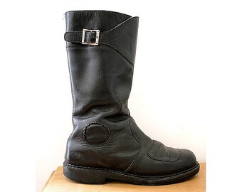 1970  MOTORCYCLE BOOTS size us10 men  fr43  uk9