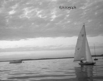 Vintage Sailing Photograph #3