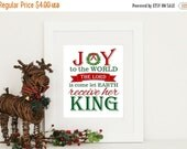 ONSALE Christmas Decor Joy to the World Print Digital Download PDF INSTANT Download