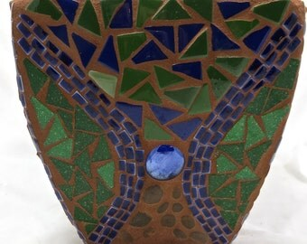 Square Mosaic Planter