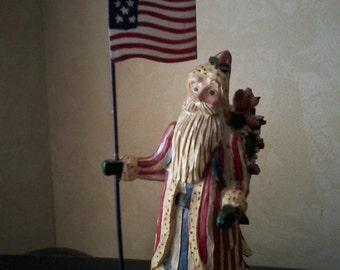Patriotic Santa