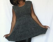 The Cold Nights Crochet Dress Pattern. Instant Download!
