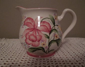 Vintage Creamer Pitcher Made in Japan Hand Painted